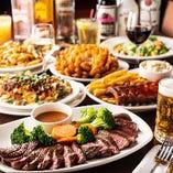 上質でボリューム溢れる肉料理を楽しめるコース5,000円〜