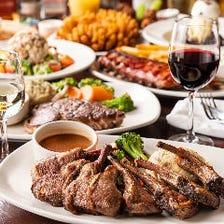 絶品肉料理や人気フードを味わう!
