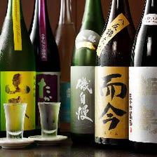 厳選を重ねた日本全国の銘酒