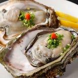 岩牡蠣や蟹など、旬の旨味を存分にご堪能いただけます