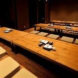 【お座敷個室最大30名様の宴会にご対応可能】