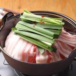 長崎芳寿豚の豚鍋