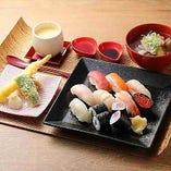 お寿司盛りお盆