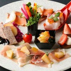 ■季節の前菜7種盛り合わせ(2名様)