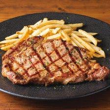 ●米国産リブアイステーキ  STEAK FRITES