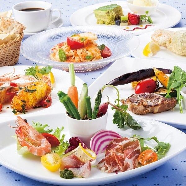 地元神奈川の新鮮な朝採り野菜、旬の鮮魚などをお楽しみに。
