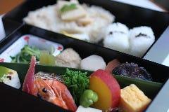 焼き魚 会席二段弁当