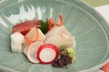 見た目の美しさ、繊細さも楽しめるのが日本料理の良さ