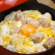 鹿児島県知覧から直送の栄養満点の卵を贅沢に3つ使用しています