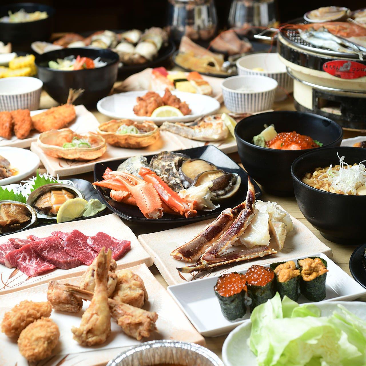 目利き自慢の魚介と名物料理を堪能!