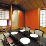 席:個室(4名様~) ゆったり食べたい時や接待にオススメ