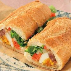 豚焼き肉のベトナムサンドイッチ