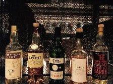 豊富なウイスキー