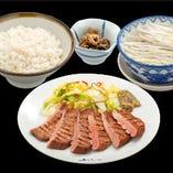 仙台名物『牛たん定食』