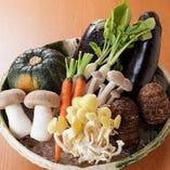【京野菜】 野菜のメニューで素材の美味をご堪能ください