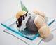 瓢箪のモナカがかわいい♪食後のデザートはいかがでしょうか?