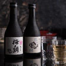 オリジナルの日本酒と梅酒