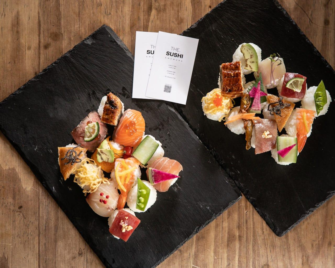新しいスタイルの「お寿司」
