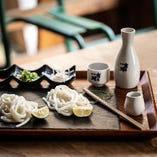 【マリアージュ】 お寿司×厳選お酒もご用意。
