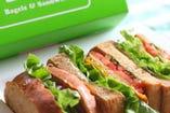 ☆新商品☆ GRILLED VEGGIE SANDWICH(Vegetarian)
