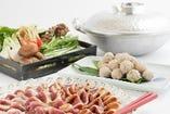 ■旬の食材をふんだんに使った料理をお楽しみいただけます。