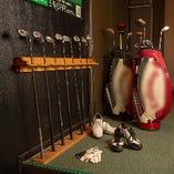 ゴルフクラブ、グローブはなど無料で貸し出しいたします!