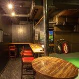 2ブースの完全個室で世界有数のゴルフコースをバーチャル体験