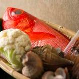 魚介の鮮度も強み オーナー自ら各地の漁港に出向きます