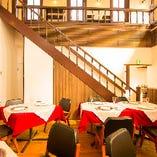 歴史有る空間での宴席は特別感たっぷり