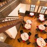 クラシックモダンなレストランで貸切パーティー&ウェディングパーティーを (店貸切:30~50名様)