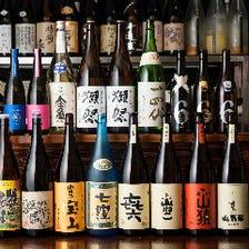 日本酒、焼酎に自信あり!!