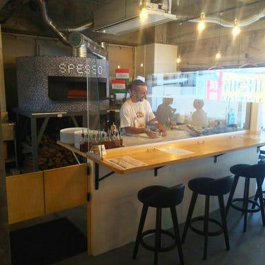 Pizzeria e Trattoria SPESSO(スペッソ) 店内の画像