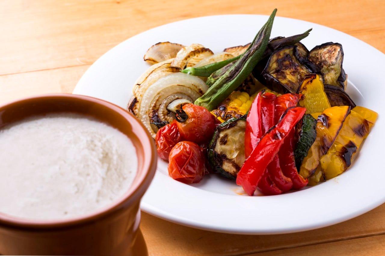 ≪看板料理≫季節野菜バーニャカウダ
