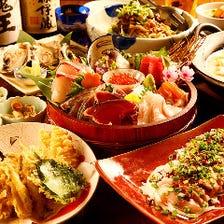 鹿児島の食をまるごと堪能◎3700円