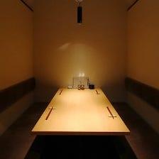 一階個室/二階テーブル席 画像は二階
