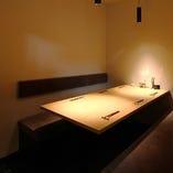 【個室】少人数まったり・・・接待や会食にもおすすめのお席(4名様~6名様個室)