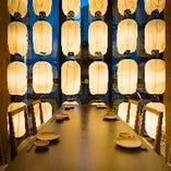 宴会・接待に最適な完全個室