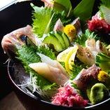 かば名物!【桶盛り】 本日1番うまい魚が桶できます!!