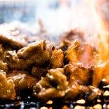 大山山麓の【香美鶏】を使ったお料理も多数ご用意!