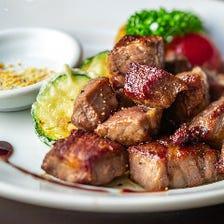 肉肉しい肉が食べられる!!