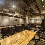 【半個室】パーテーションで半個室空間を。ゆったりとお食事が楽しめます♪