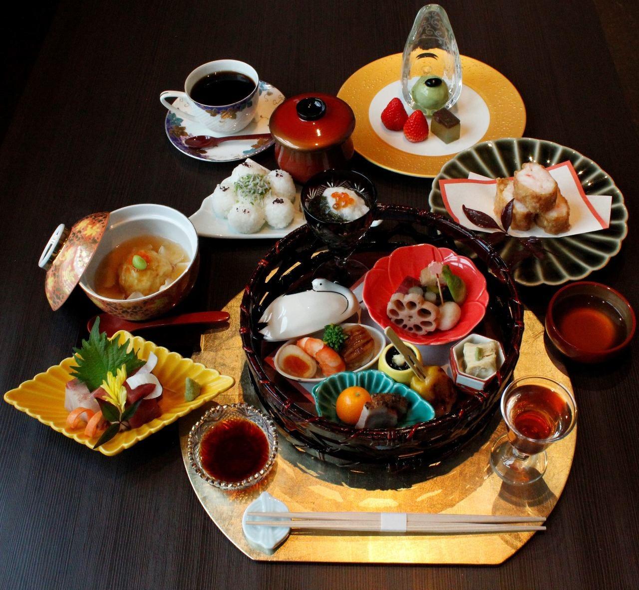 お料理コース(昼・夜) 4000円~