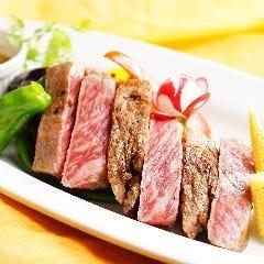 黒毛アンガス牛ロースステーキ(150g)