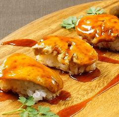 絶品!とろける極上食感!フォアグラ寿司