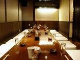 完全個室10~20名様まで プライベートやプチな集まりなどにも。
