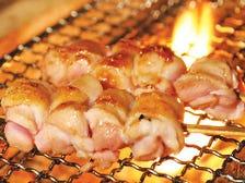 山梨県産 朝〆鶏×30年熟成秘伝タレ