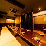 【2F御座敷の間】完全個室の貸切空間