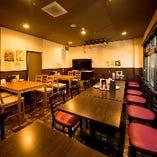 ご宴会に最適なテーブル席(~4名様)【宴会/女子会/飲み会/パーティ/歓送迎会】