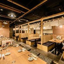 昭和初期の昔懐かしい雰囲気の店内