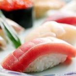 こだわり食材のお寿司【国内】